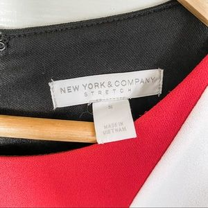 New York & Company Dresses - New York & Company Color Block Midi Dress